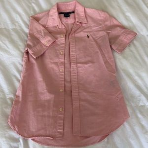 Ralph Lauren Tops - Ralph Lauren Short Sleeve Button Down